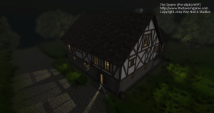 Image of a prototype tavern building